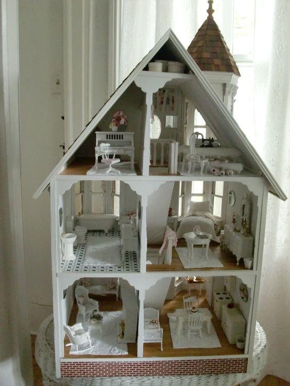 shabby chic dollhouse miniatures google search