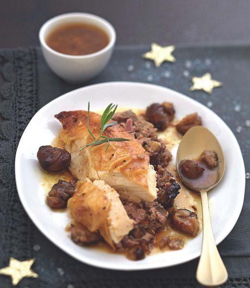 Les 20 recettes de dinde pour les 20 prochains no ls de votre vie dinde farcie marrons et vrai - Farce pour dinde noel ...
