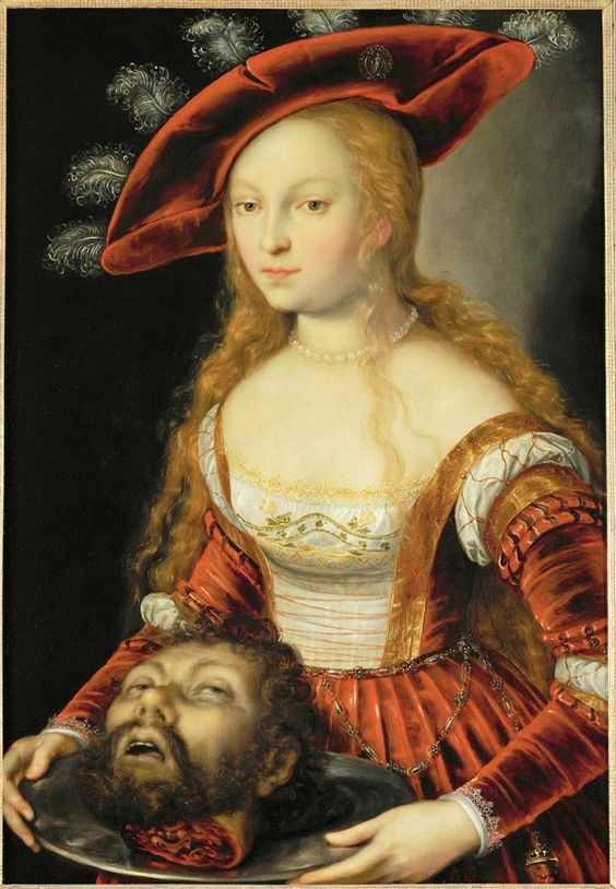 Salome with the head of st john the baptist joseph for Andreas heintz
