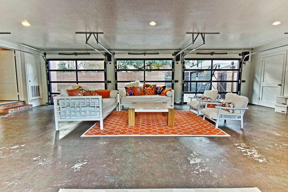 Convert Your Garage Into An Indoor Outdoor Living Space