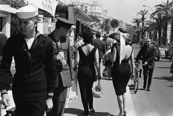 vintage everyday: Rare Photos from Cannes Film Festival in 1962: