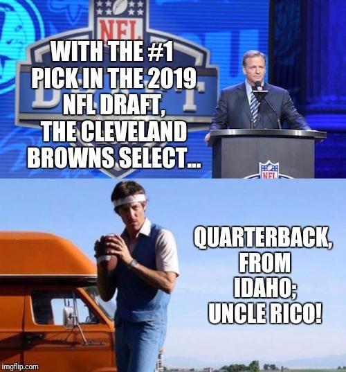 Top 20 Funniest Nfl Draft Memes 2019 Averageguyexperience Funny Nfl Sports Memes Browns Memes