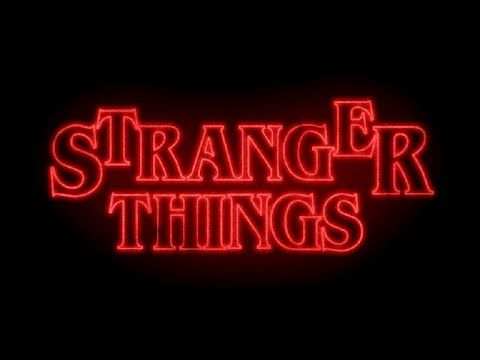 Simple Stranger Things Cinematic Intro Animation After Effects No Third Party Plugins Youtube Stranger Things Logo Reveal After Effects