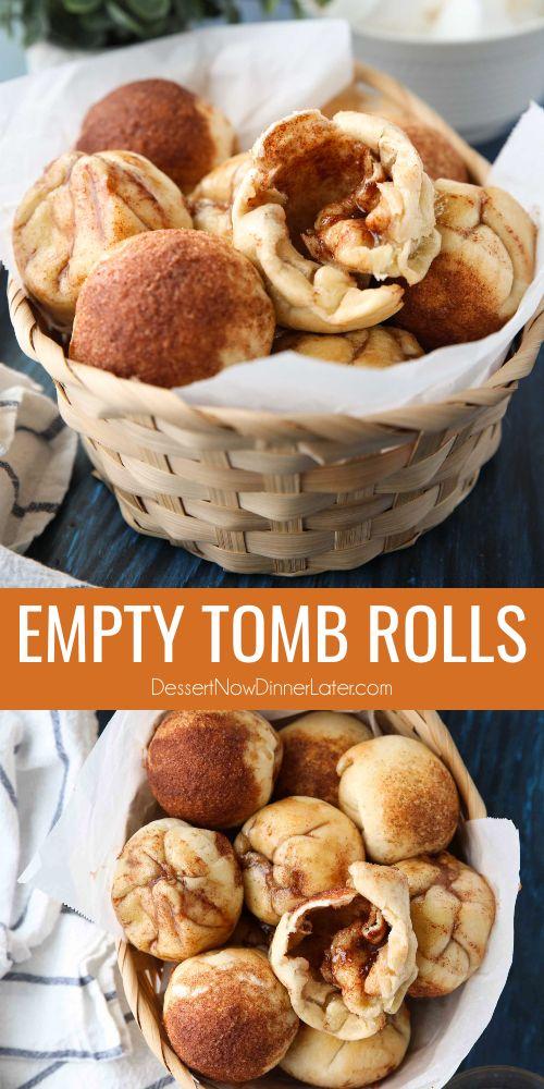 Empty Tomb Rolls (aka Resurrection Rolls)