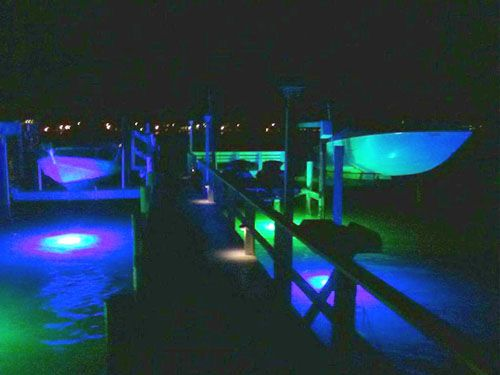 incredible underwater led dock lights are a nice addition to any, Reel Combo