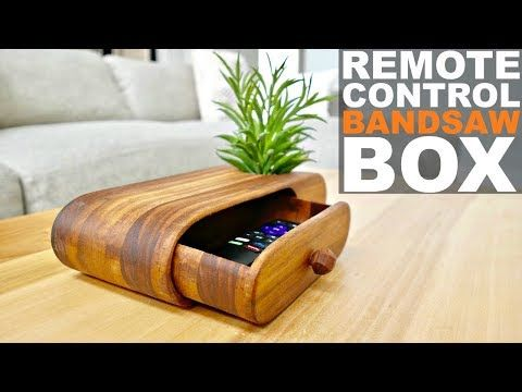 This Modern And Contemporary Bandsaw Box Is Perfect As A