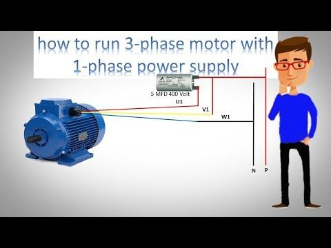 How To Run 3 Phase Motor With 1 Phase Power Supply By Earthbondhon Youtube Free Energy Generator Home Electrical Wiring Induction Heating