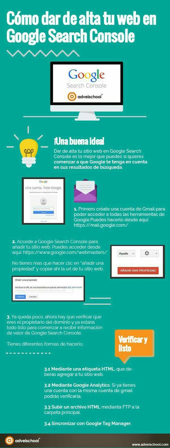 Alta en Google Search Console