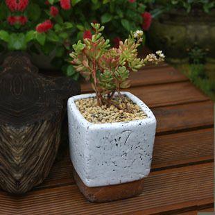 Livraison gratuite pots en céramique pots en céramique mini pots en terre cuite grès spectacle plus chair - cho petite graver sur le 2ème pleine cents fr