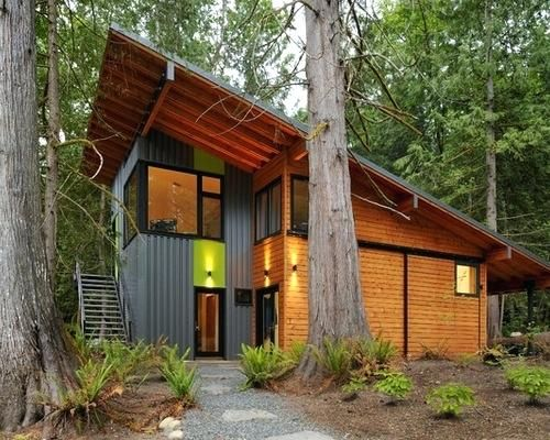 Small Spacious Tiny Homes You Can Build See The Details Now Shed Roof Design House Design Photos Luxury House Designs