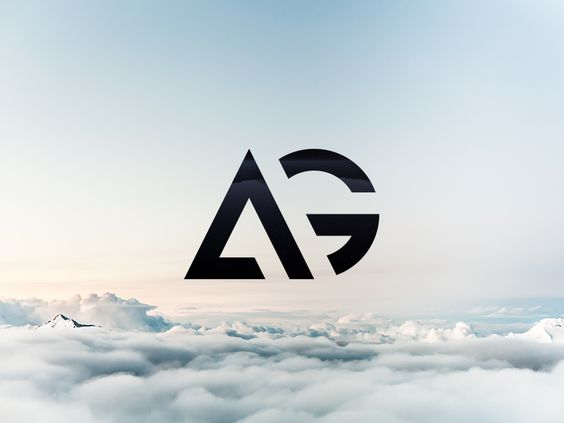AG – The finished logo by Maxime Siméon
