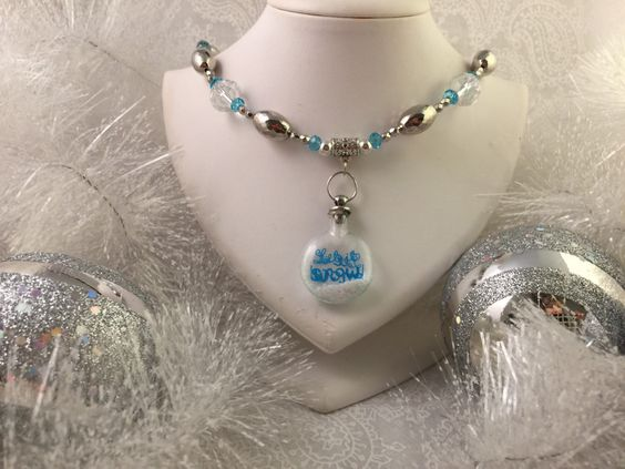 A personal favorite from my Etsy shop https://www.etsy.com/listing/250668668/christmas-snowflake-necklace-silver-tone