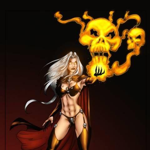 Skull of Flame