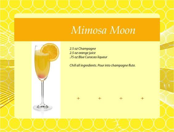 Mimosa Moon Cocktail Recipe