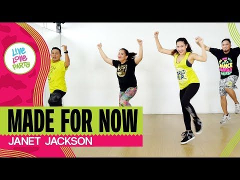 Made For Now By Janet Jackson Live Love Party Zumba Dance Fitness Youtube Dance Workout Zumba Workout Zumba Dance