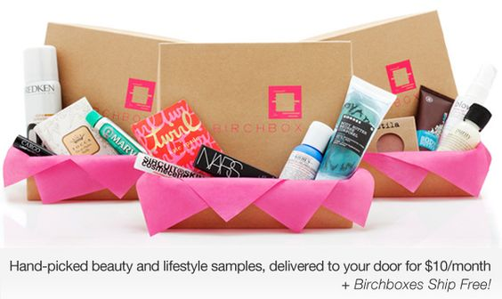 Monthly sample subscriptions at #Birchbox