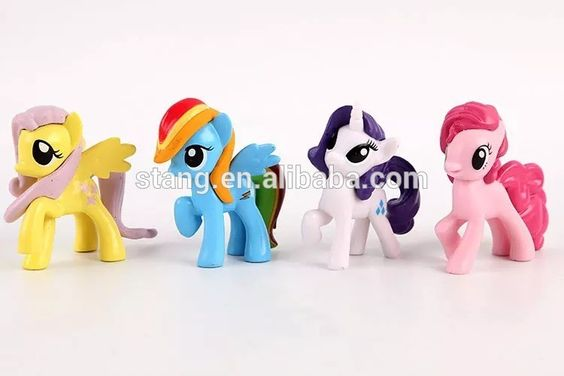 Lot of 20 My Little Pony Ponies & Horses Assorted Sizes Plastic Toys Figures