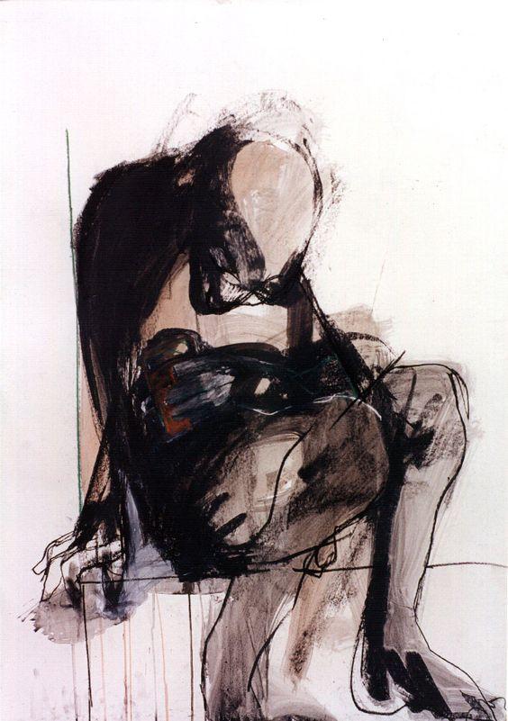Aguadas de tinta china. Eduardo Ayala