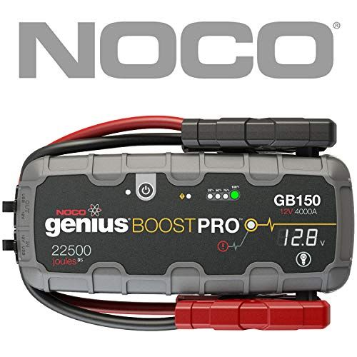 The Gb150 Is A Compact Yet Powerful Lithium Ion Jump Starter For 12 Volt Batteries With It You Can Safely Jump St Jump A Car Battery Car Battery Car Starter