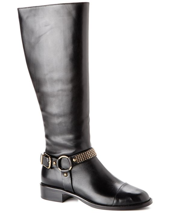 "Via Spiga ""Brandice"" Leather Boot is on Rue. Shop it now."