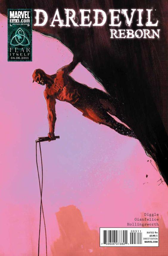 Daredevil: Reborn # 3 by Jock