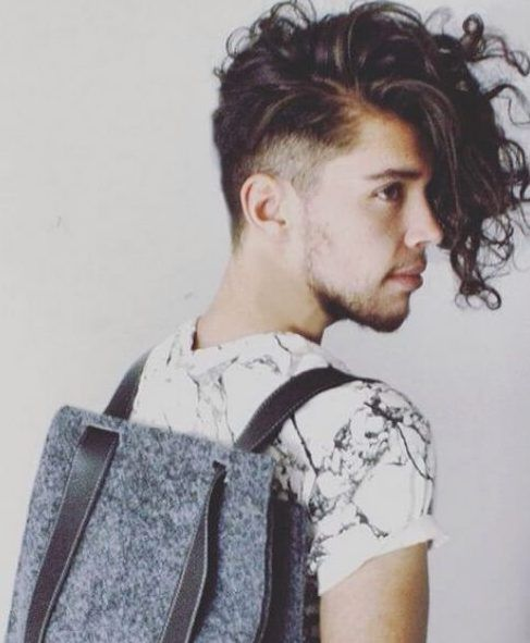 50 Undercut With Curly Hair Styles For Men To Look Bold Curly Hair Men Hipster Hairstyles Undercut Curly Hair