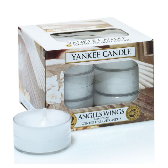 Yankee Candle Teelichter ANGEL'S WINGS