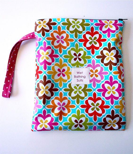 Swim Lesson Bag: Wet Bag Tutorials, Wet Bag And Bag Tutorials On Pinterest