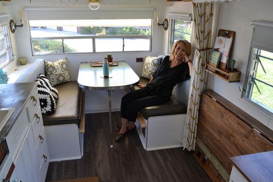upholster caravan cushions - tutorial how to diy