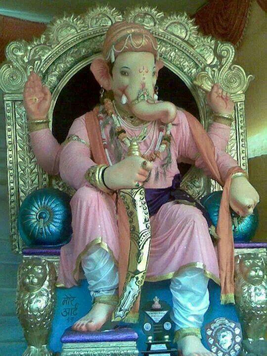 Ganapati Like Shivaji Ganesh Utsav 2013 Hindu God B Pinterest Ganesh