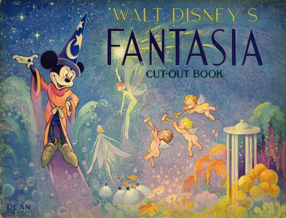 FANTASIA Cut-Out Book - The Mel Birnkrant Collection