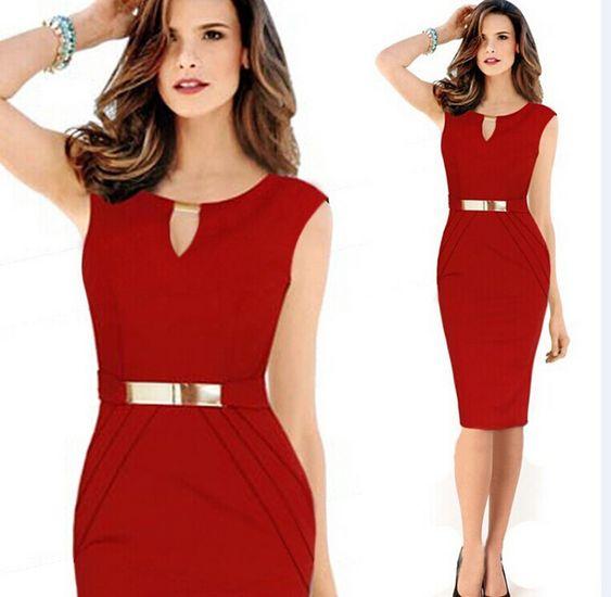 Compra señoras vestido de verano online al por mayor de China ...
