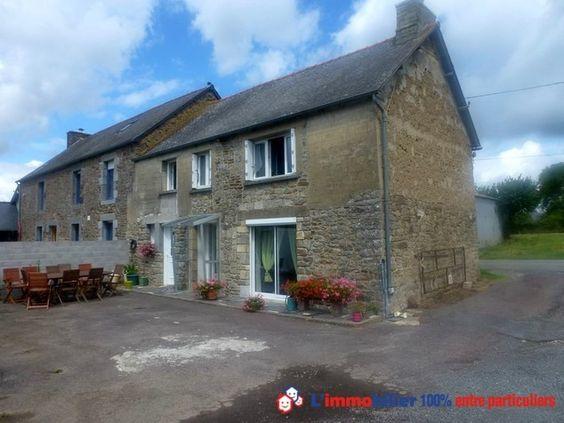 Envie de concrétiser votre achat immobilier entre particuliers dans les Côtes d'Armor ? Visitez cette maison de pierres rénovée à Les-Champs-Géraux.http://www.partenaire-europeen.fr/Actualites-Conseils/Achat-Vente-entre-particuliers/Immobilier-maisons-a-decouvrir/Maisons-a-vendre-entre-particuliers-en-Bretagne/Maison-pierres-renovee-dependances-grand-terrain-ID-2690248-20150518 #maison