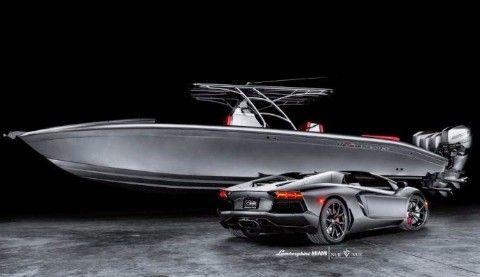 The Sea Toogle Midnight Express Matte Cars Lamborghini Aventador For Sale