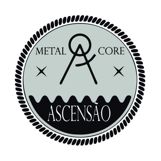 Criação de logotipo p/ a banda de Metalcore #ASCENSÃOConheça a banda -> https://goo.gl/KWO71Z  #metalcore #design #logotipo #band #alternative #hardcore #sp #music #crie #underground  underlogo.tumblr.com