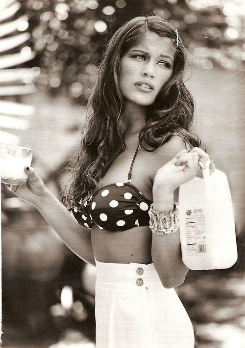 Marie Claire Italia (1995)Model: Laetitia Casta