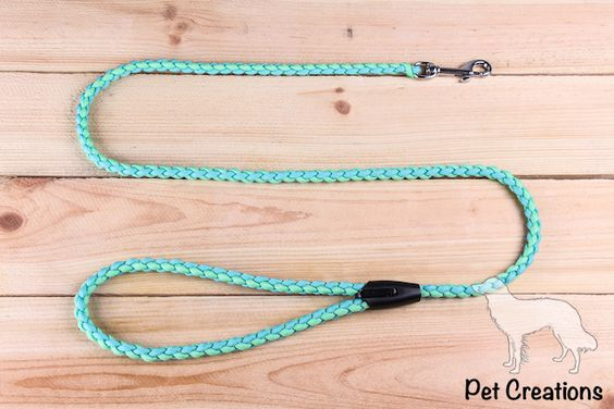 Paracord and met on pinterest for Paracord leash instructions
