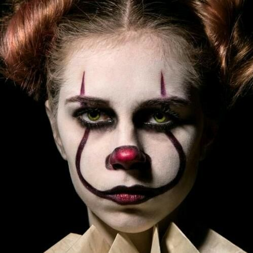 cardudley clown face paint tik tok