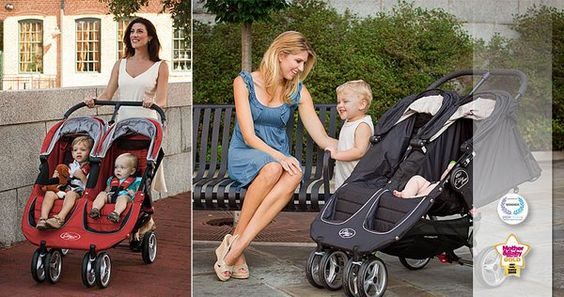 Double jogging strollers are designed for jogger #parents with #twins or two #babies. #tips