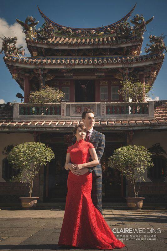 保安宮拍婚紗照 濃濃中國風景點 老外最愛的中國風場景 辛辛克萊 攝影師游頭 辛辛克萊結婚概念店 formal