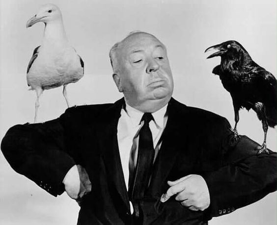 """Alfred's Hitchcok's Definition of Happiness: """"Hatred is wasted energy."""""""