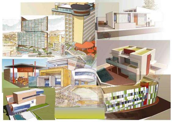 . realizacion de dibujos de presentacion arquitectonica , hechos a mano, y…
