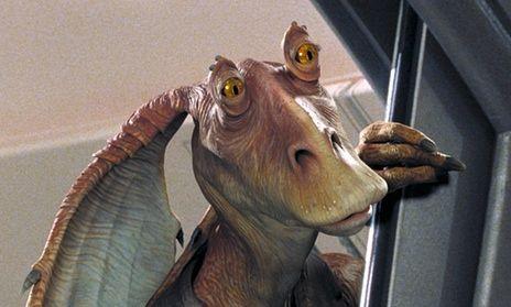 The Bumbling Gungan Jar Jar Binks Will Not Be Appearing In The New Star Wars Film The Force Awakens.......