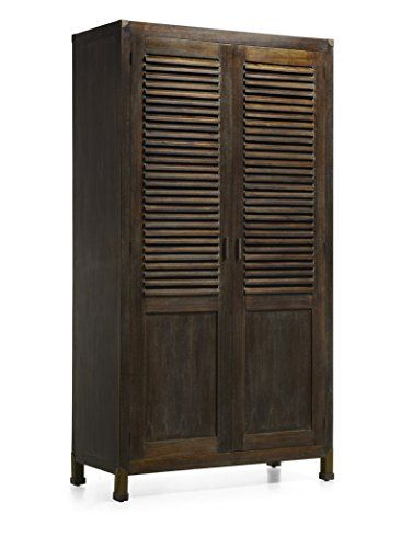 kleiderschrank mit spiegel kollektion industrial 108x200x50 decoraci n beltran http www. Black Bedroom Furniture Sets. Home Design Ideas