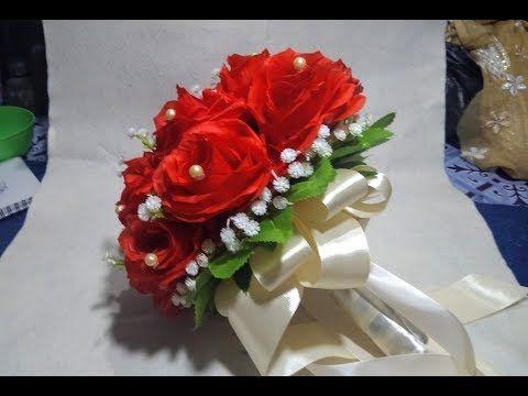 Bunga Pengantin Cantik Wedding Handbouquet Buket Mawar Bunga Baby
