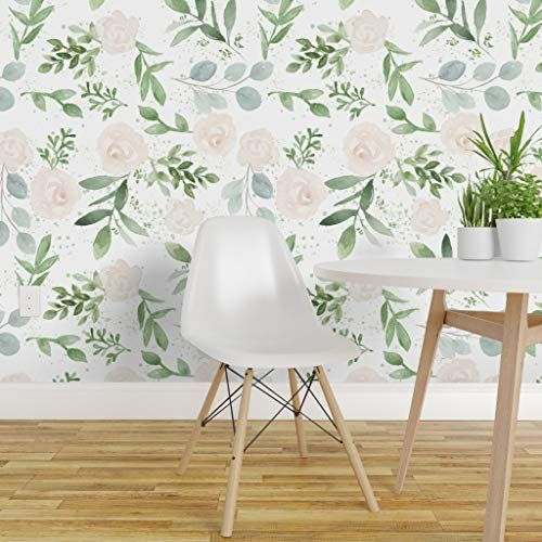 Spoonflower Peel And Stick Removable Wallpaper Soft Pink Https Www Amazon Com Dp B07yzqwkwy Ref Cm Sw Removable Wallpaper Floral Wallpaper Wallpaper Roll