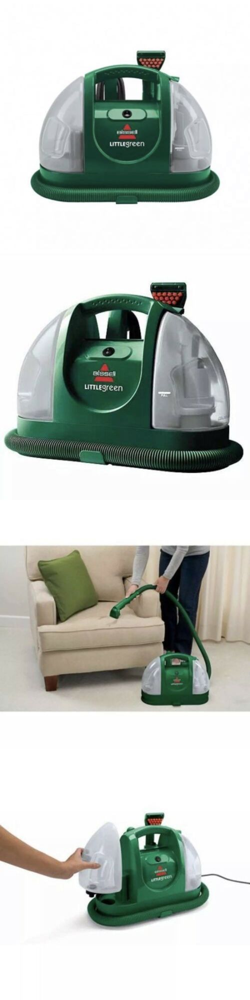 Carpet Shampooers 177746 Bissell Little Green Spot And Stain Cleaning Machine Carpets Couch Car More Bu Carpet Shampooers Green Spot Carpet Cleaners