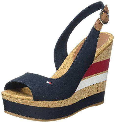 Designer Tommy Hilfiger Artículo Fw0fw00858 Estación Primavera Verano Enlace Al Producto Afiliado De Amazon Dedep Zapatos Tommy Zapatos Zapatos De Tacones