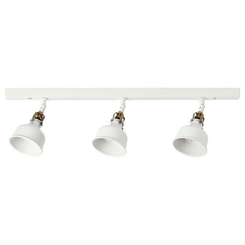 Ikea Ranarp Lampara Techo 3 Focos Lamparas Colgantes Lamparas De Techo Bombillas Led