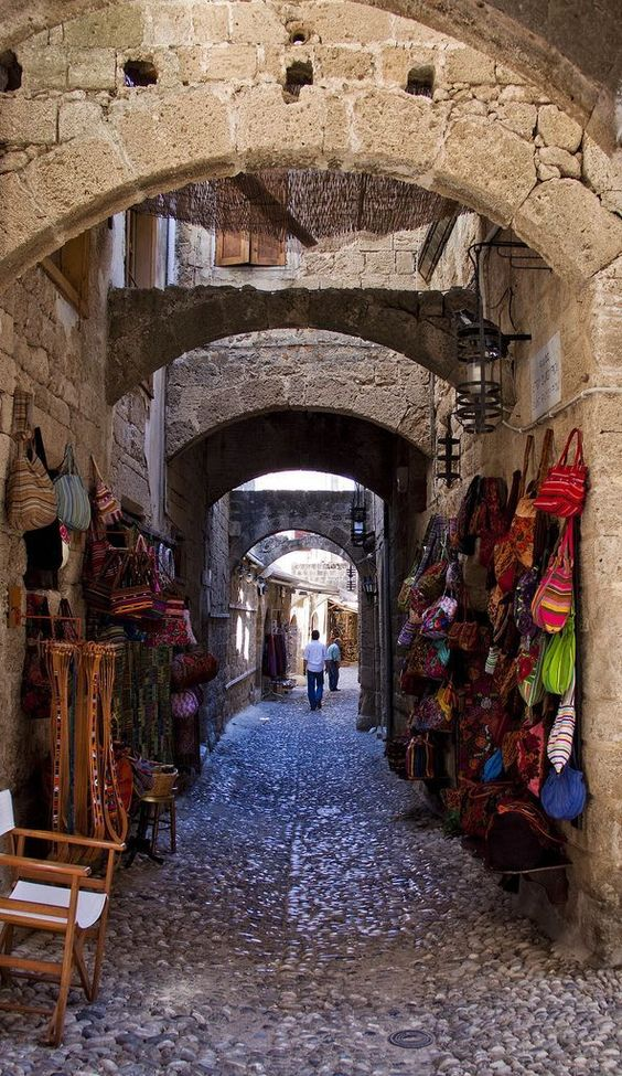 .Old Town - Rhodos, Greece - #Greece #oldtown #Rhodos #town